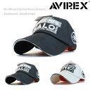 AVIREX アヴィレックス アビレックス キャップ 帽子 ローキャップ MFG HALO メンズ 人気 トレンド