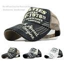 メッシュキャップ 帽子 キャップ メンズ アメカジ NOVEL TIES DRM-T-1978 春夏 人気 トレンド 野球帽
