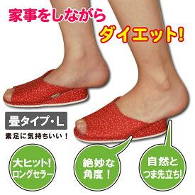 初恋ダイエットスリッパ (畳) Lサイズ ダイエットスリッパ ko-04635-hatsukoi-tatami-l