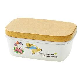 PR-0303 ピーターラビット バターケースかわいい バター保存容器 キッチングッズ プレゼント ギフト