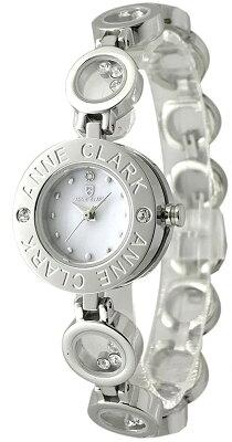 【キャッシュレスでポイント5%還元】 カラーストーン入りブレス ANNE-CLARK U.S.A アンクラーク 天然ダイヤ入り AT-1008-09 [送料無料] [腕時計]