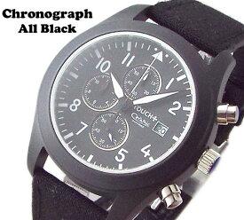 【クーポンでさらに2000円off】 クロノグラフ メンズ 腕時計 サファイアガラス セラミックコーティング TOUCH マットグレーダイヤル 10気圧防水 MENS WATCH CHRONOGRAPH センタークロノ 送料無料