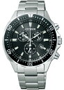 シチズン エコドライブ クロノグラフ 腕時計 メンズ VO10-6771F