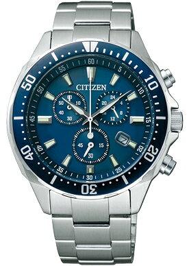 【エントリーでポイントUP】 シチズン エコドライブ クロノグラフ 腕時計 メンズ VO10-6772F 【クーポン対象】