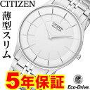 お買い物マラソン クーポン対象 シチズン エコドライブ 薄型 スリム 腕時計 メンズ AR3010-65A