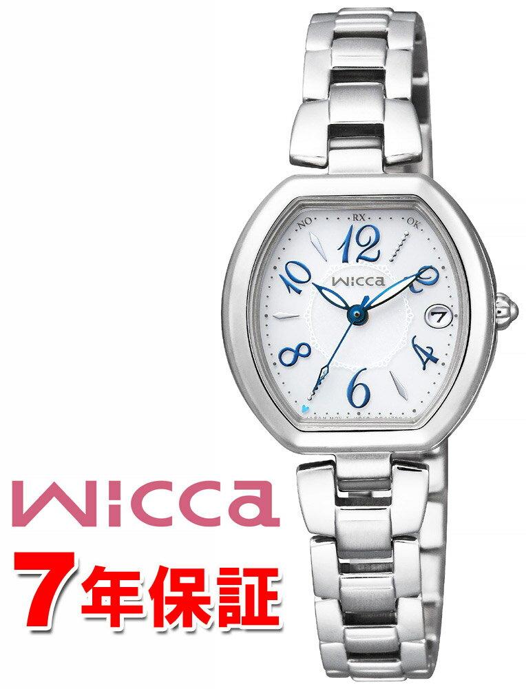 【エントリーでポイントUP】 シチズン ウィッカ ソーラーテック電波 wicca 電波 レディース 腕時計 KL0-715-11 【クーポン対象】