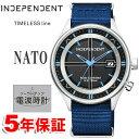 期間限定 エントリーでポイント+4倍 インディペンデント シチズン ソーラー電波時計 ミリタリー NATOバンド INDEPENDENT CITIZEN インデペンデント メンズ 腕時計 KL8-61