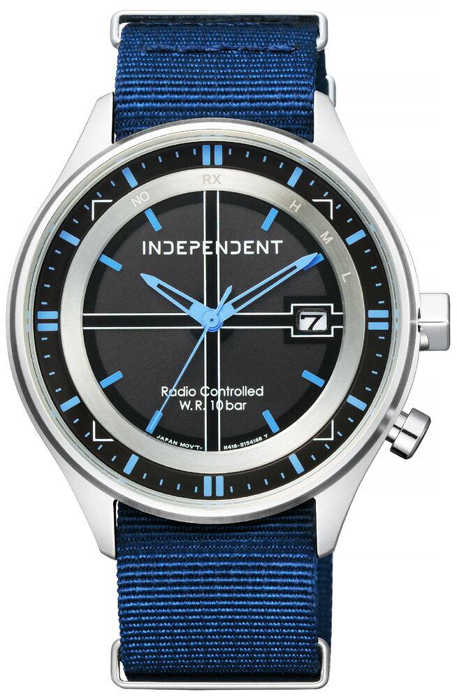 ソーラー電波時計 インディペンデント シチズン ミリタリー NATOバンド INDEPENDENT CITIZEN インデペンデント メンズ 腕時計 KL8-619-54