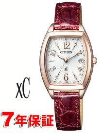 【 さらに表示より2000円off 期間限定クーポンあり 】 クロスシー サクラピンク ソーラー電波時計 ワールドタイム シチズン エコドライブ ハッピーフライト レディース 腕時計 革ベルト CITIZEN XC ES9394-56A