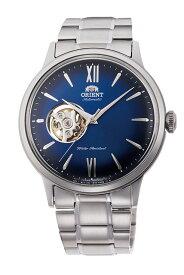 [ポイントアップキャンペーン実施中] オリエント 機械式 自動巻き 手巻き ハック機能付き 腕時計 メンズ 時計 オープンハート シースルーバック ORIENT RN-AG0017L