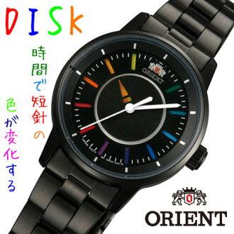 ORIENT东方女士手表DISK磁盘彩虹WV0041NB