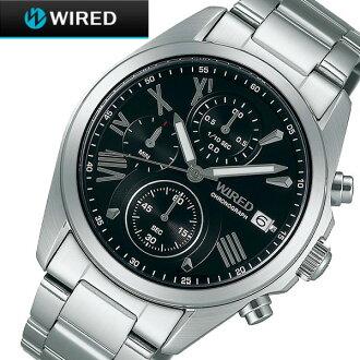 WIRED wired AGAT404 SEIKO Seiko men's chronograph P16Sep15