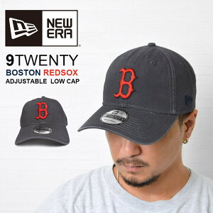 キャップ NEW ERA ニューエラ レッドソックス redsocks ブランド MLB メジャーリーグ メンズ レディース boston ボストン グレー 9TWENTY 帽子 CAP 調節 ローキャップ 野球帽 ベースボール おしゃれ かっ