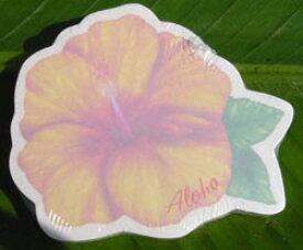 ハイビスカスのふせん ハワイお土産女子 ハワイアン雑貨