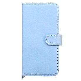タイベック素材 手帳型ケース(ブルー) AIFP8-TYVEK04BL 対応機種:iPhone8 / iPhone7 / iPhone6s / iPhone6