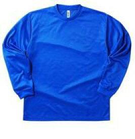 【40%OFF!!!】グリマー/ドライロングスリーブ無地ムジmujiTシャツ00304-ALTメッシュ素材の長袖版 140〜5L ※キッズ メンズ 大きなサイズ 3L 4L 5L