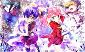 STARFLEETS カードゲームプレイマット ☆『柊柚子&セレナ/illust:らっこ』★ 【GOOD COMIC CITY 23】