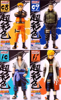 All four kinds of NARUTO- naruto - gale biography Heiss peck coloring figure skating 3 sets