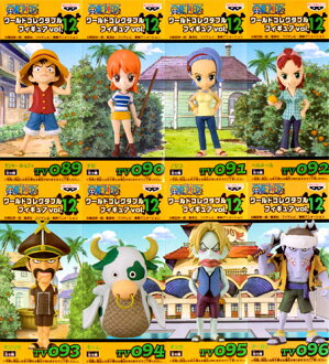 All eight kinds of ONE PIECE- one piece - world collector bulldog figure skating vol.12 sets