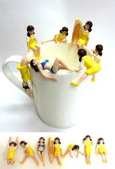 Cup of borderless child 1 fresh 7pcs
