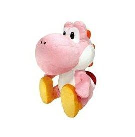 スーパーマリオ 特大サイズぬいぐるみ おすわりヨッシー ピンク 単品