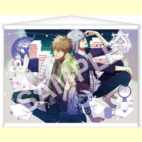 Gift AMNESIA -アムネシア- スペシャルくじ B賞 描き下ろしB2タペストリー 【イッキ&ケント&ウキョウ】