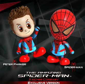Hot toys cosbaby HOTTOYS spider' series [S] Spider-man set (classic color version)