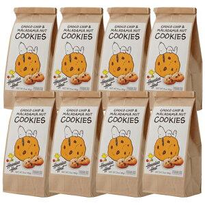 12%OFF【ハワイアンホースト公式店】スヌーピーチョコチップマカデミアクッキー8袋【セット割引】