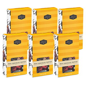 13%OFF【ハワイアンホースト公式店】シアトルチョコレート ミルクトリュフチョコ アソートBOX 6箱セット