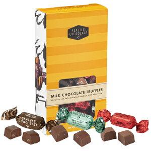 【ハワイアンホースト公式店】シアトルチョコレート ミルクトリュフチョコ アソートBOX