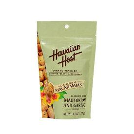 【ハワイアンホースト公式店】マウイオニオン&ガーリック マカデミアナッツ127g|ハワイ お土産