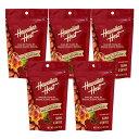 【ハワイアンホースト公式店】 コナコーヒーマカデミアナッツ5袋【セット割引】|ハワイ お土産