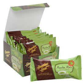【ハワイアンホースト公式店】 マカデミアナッツチョコレート抹茶マックスバー12袋セット