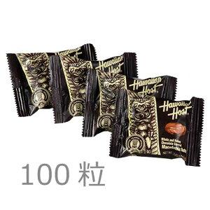 【ハワイアンホースト公式店】マカデミアナッツチョコレートTIKI 100袋詰|ハワイ お土産