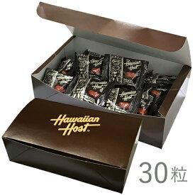 【ハワイアンホースト公式店】マカデミアナッツチョコレートTIKI30袋ギフトボックス