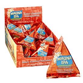 【ハワイアンホースト公式店】マウナロア ハニーロースト マカデミアナッツミニパック24袋|ハワイ お土産
