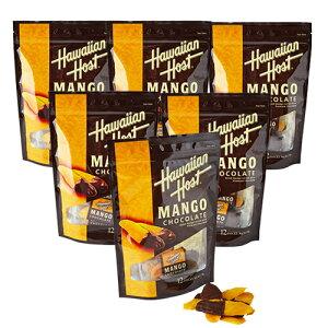 <36%OFF>【ハワイアンホースト公式店】ドライマンゴーチョコレート(12袋)6セット|ハワイ お土産