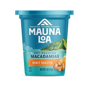 【ハワイアンホースト公式店】【NEW】マウナロア ハニーローストマカデミアナッツカップ 113g|ハワイ お土産
