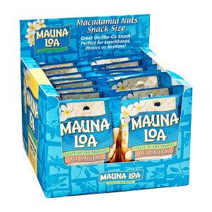 【ハワイアンホースト公式店】マウナロア 塩味マカデミアナッツS 18袋セット|ハワイ お土産