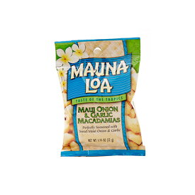 【ハワイアンホースト公式店】マウナロア マウイオニオン&ガーリックマカデミアナッツS 32g|ハワイ お土産