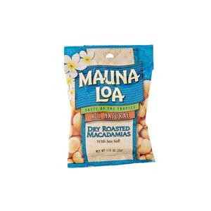 【ハワイアンホースト公式店】マウナロア 塩味マカデミアナッツS 32g|ハワイ お土産