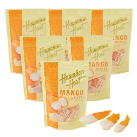 【ハワイアンホースト公式店】ドライマンゴーホワイトチョコレート(12袋)6セット|ハワイ お土産