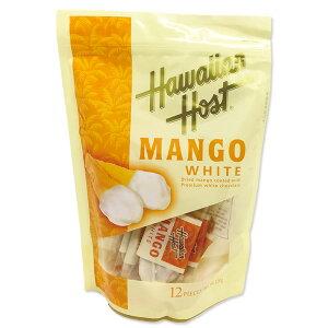 ハワイアンホースト ドライマンゴー ホワイトチョコレート (12袋入)