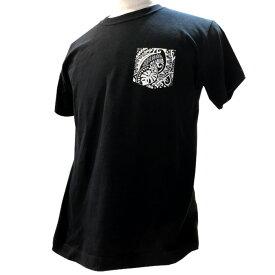 SivaOla メンズ Tシャツ 半袖 ポケット柄