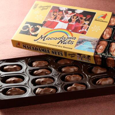 ハワイアンホーストスパリゾートハワイアンズオリジナルマカダミアナッツチョコレート【クール便※常温便との同梱不可】