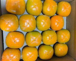タカスオ 紀北かわかみ 和歌山 たねなし柿 上物 7.5kg 2Lサイズ 産地直送 たくさん楽しめる お裾分けや 業務用 等にも 2箱買うと送料無料