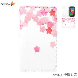 手帳型 桜柄[カバー/シンプル/さくら/花/桜/春/和風/和柄/和紙/ピンク/お花/フラワー/日本/japan/iPhone/ipod touch/xperia/galaxy/aquos]