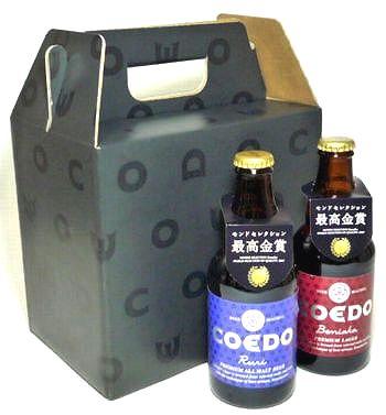 COEDO(コエド)ビール 飲み比べ紅赤(Beniaka)、瑠璃(Ruri) 6本セット
