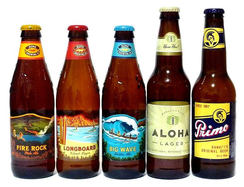 【送料無料】ハワイアンビール 飲み比べ12本セット (コナビール、プリモビール、アロハビール)