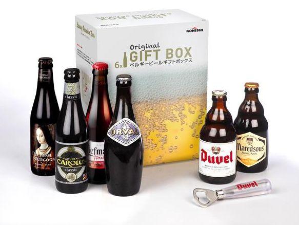 ベルギービール飲み比べ6本ギフトセット BF6
